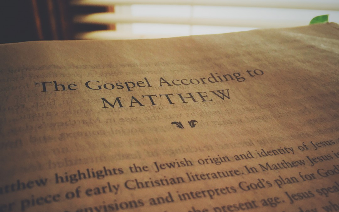 Services for March 1st: Matthew and Pot Pies