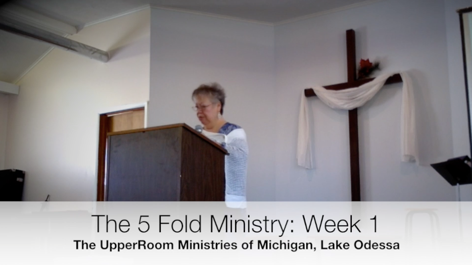 5-Fold Ministry, Week 1: The introduction